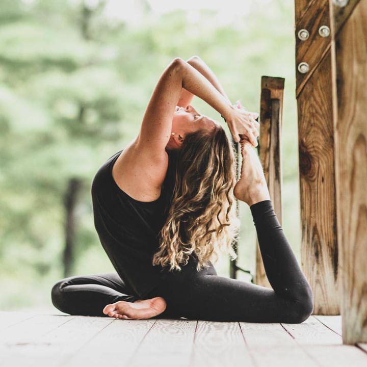 Hot Yoga -