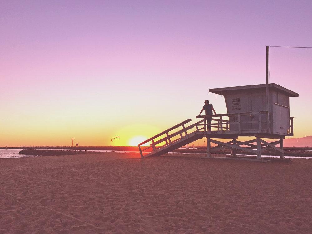 Toes Beach, Playa del Rey, CA. Photo credit: Victoria Dorkoski