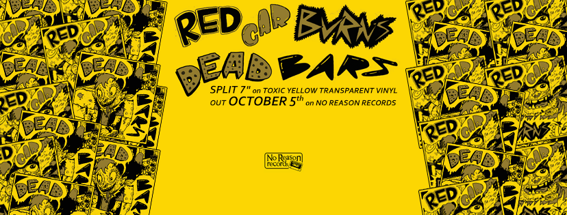 Red Car Burns - Split with Dead Bars 7