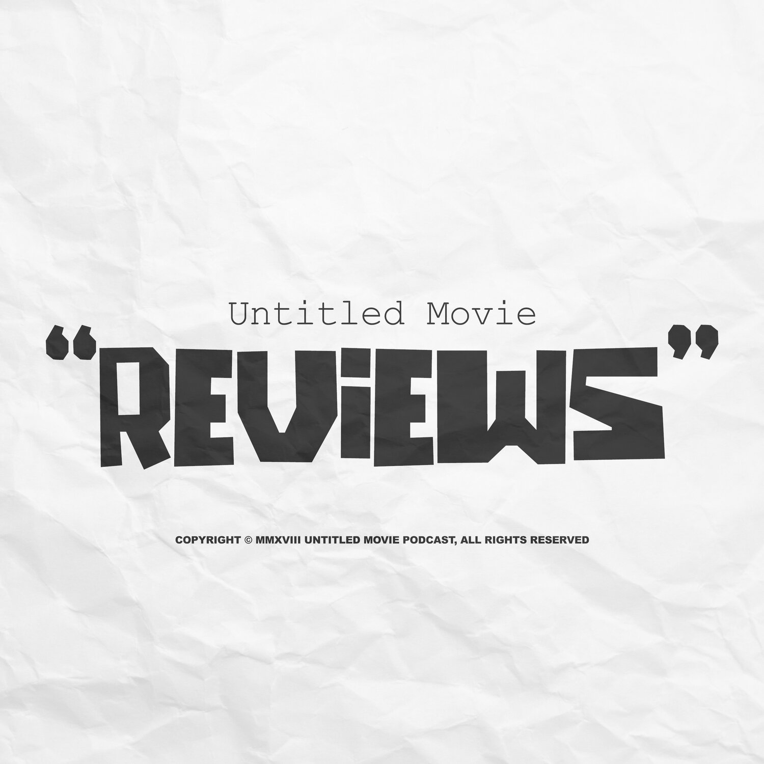 Untitled Movie Reviews podcast show image