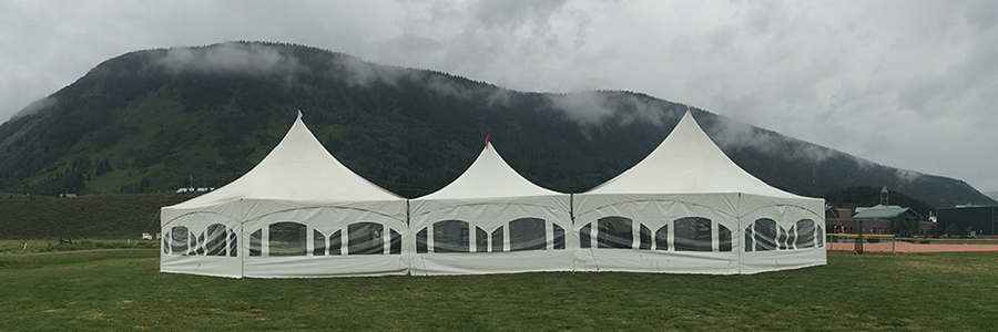 Crested Butte Tent Rentals for Parties, Weddings and Corporate Events