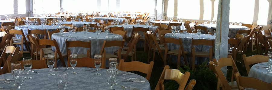 Crested Butte Catering Equipment for Parties, Weddings and Events
