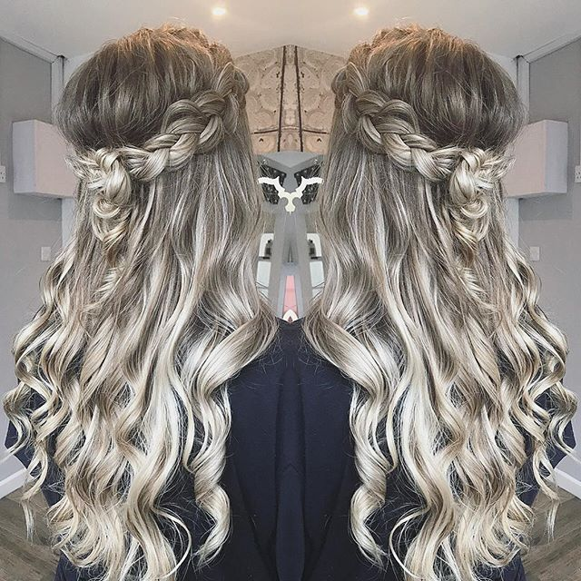 Hannah Woodgates Hair Design Long curls | Image courtesy of Hannah Woodgates