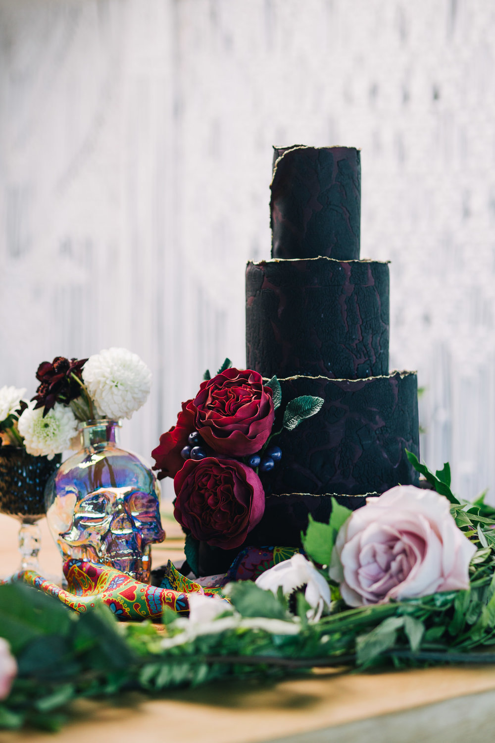 Rock'n'Roll cake Composition | Image courtesy of Adj Brown