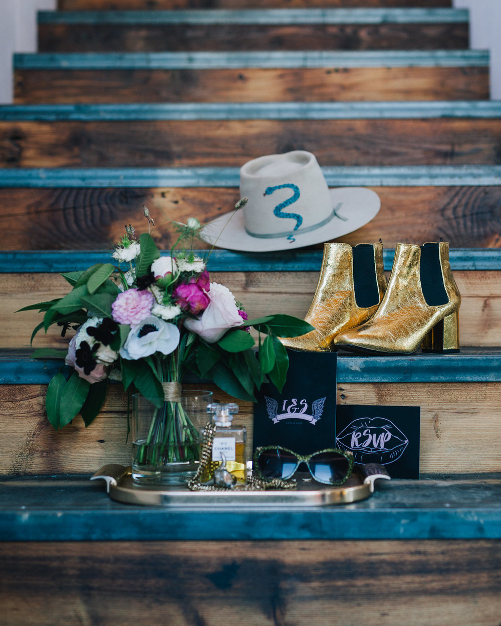 Rock'n'Roll Wedding Composition | Image courtesy of Adj Brown