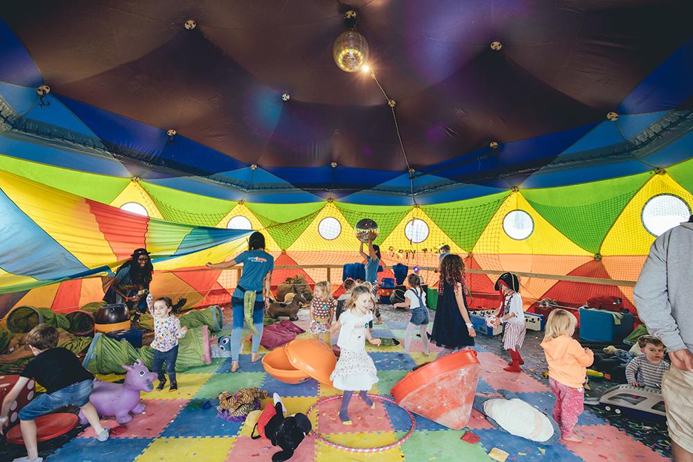 Kids play tent   Image courtesy of Matthew Hawkey
