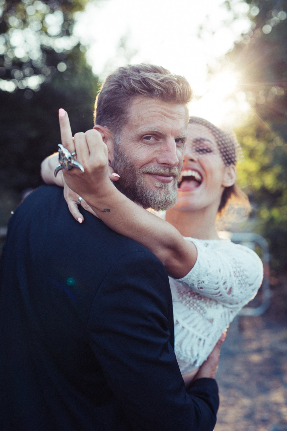 Cheeky festival couple | Image courtesy of Adj Brown