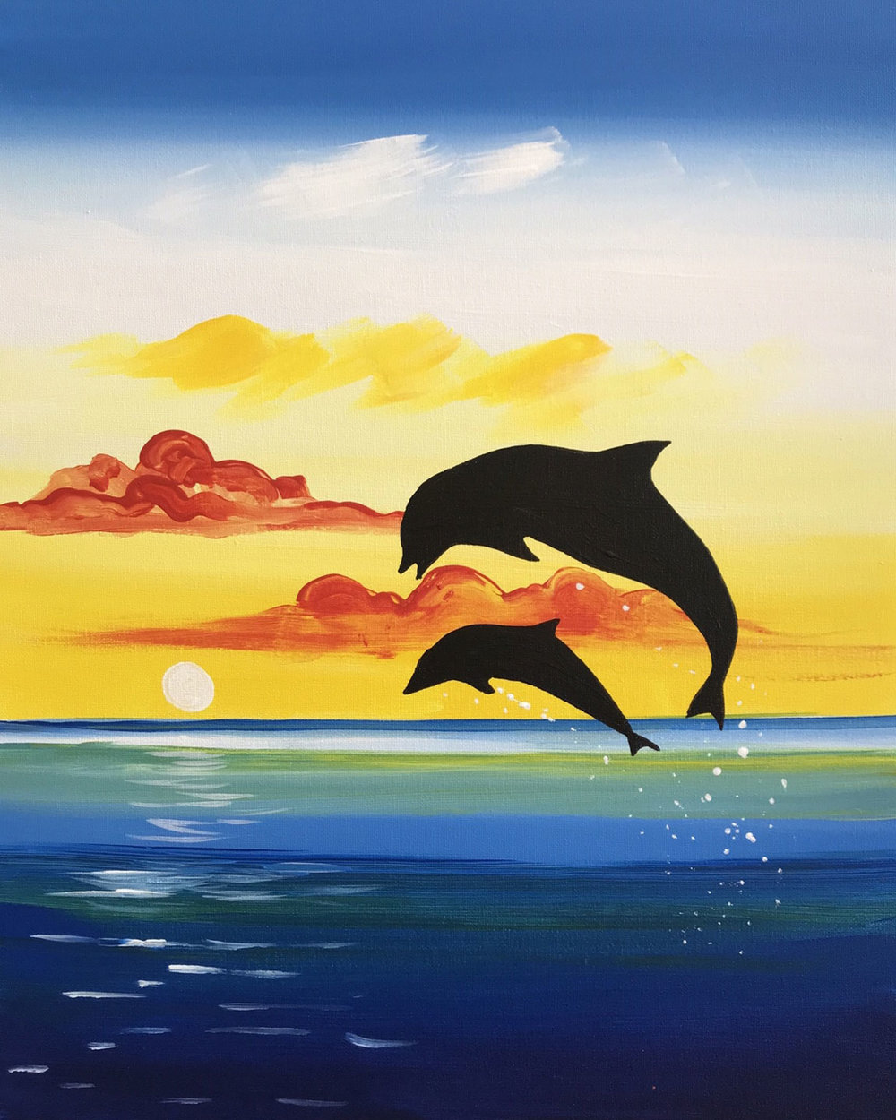 Leaping Dolphins (2 hours)