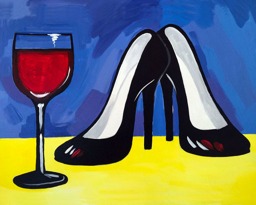 High Heels and Wine (2.5 hours)