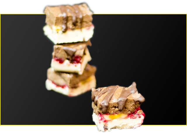 High Protein BioCake Fudgey Slice Recipe