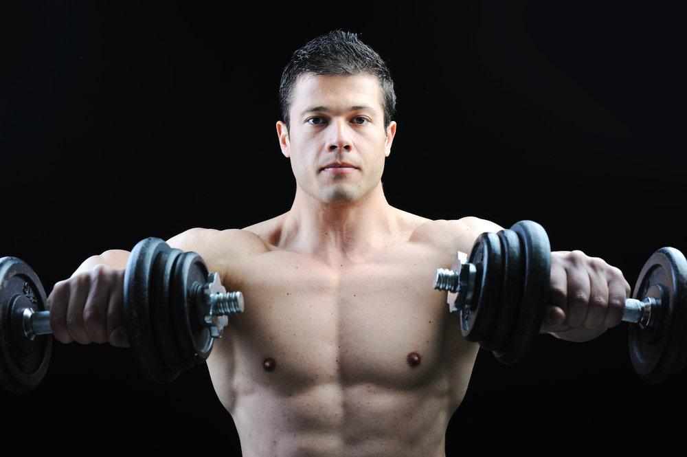 To build bigger delts try exercises like shoulder presses, side lateral raises, front raises and rear delt flies.