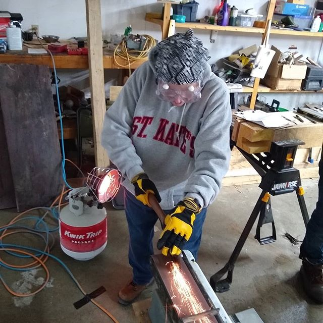 Anderson TimberWorks Tool Sharpening Class  #timberframing  #timberframer  #andersontimbwrworks