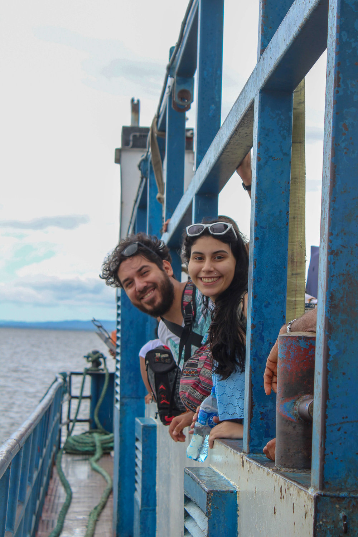 Ferry to Ometepe island 2018