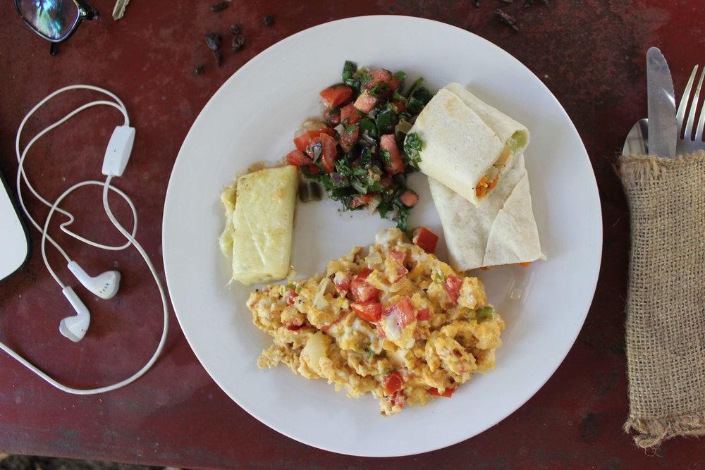 breakfast at Selvista
