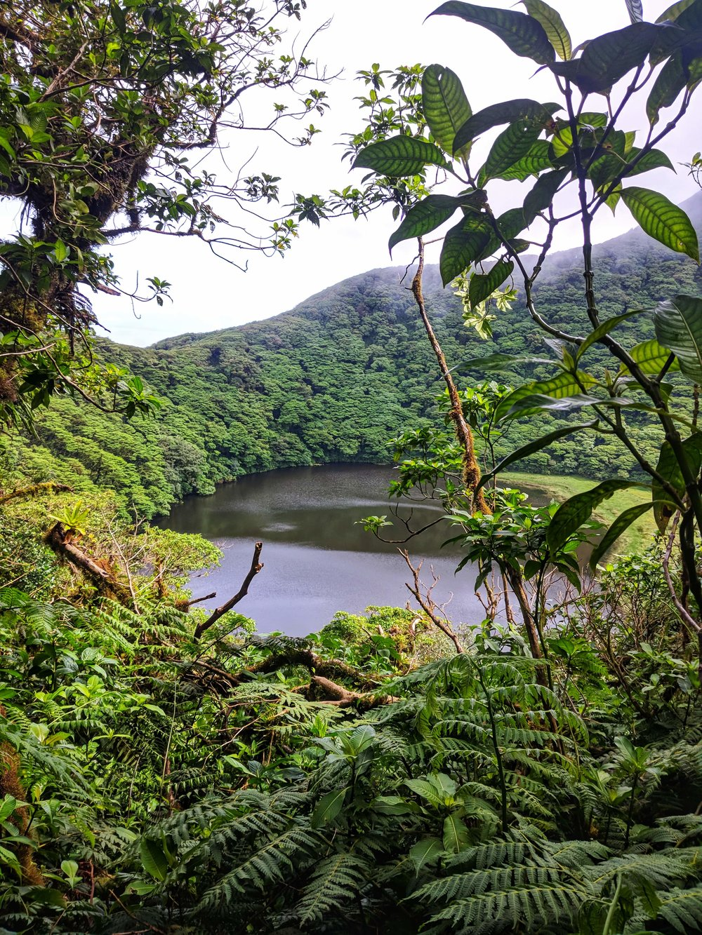 photo of Maderas Crater Lagoon by Roland Lopez