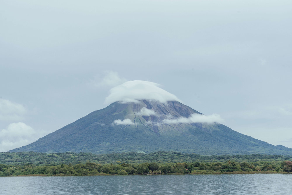 The land of lakes and volcanoes, Volcano Conception and Lake Nicaragua