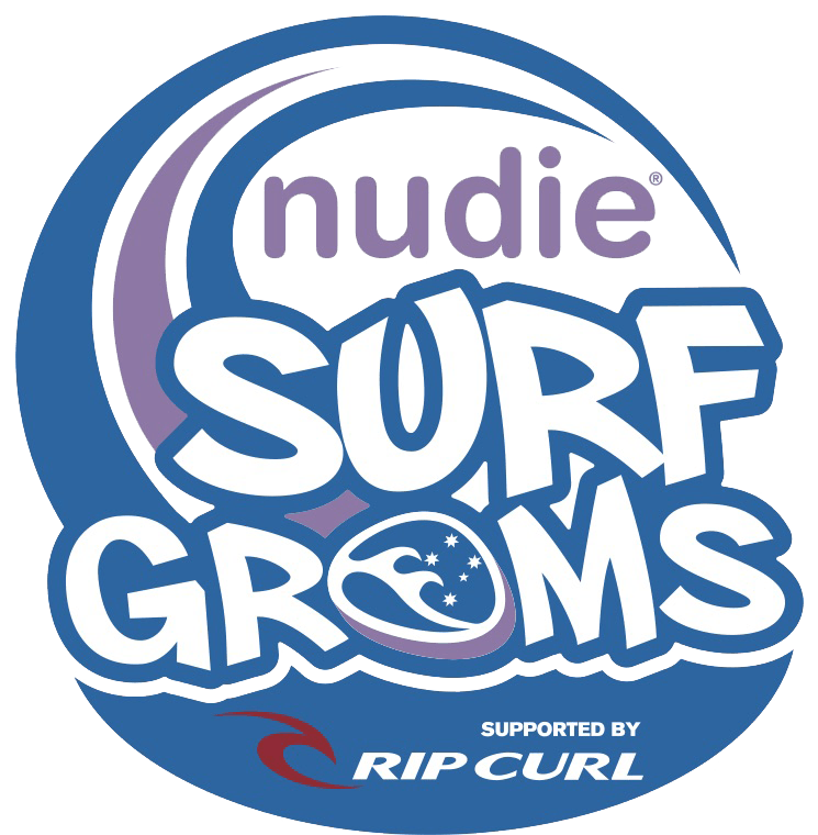 NUDIE SURF GROM LESSONS - From $145 p/person   Various programs available via this link.