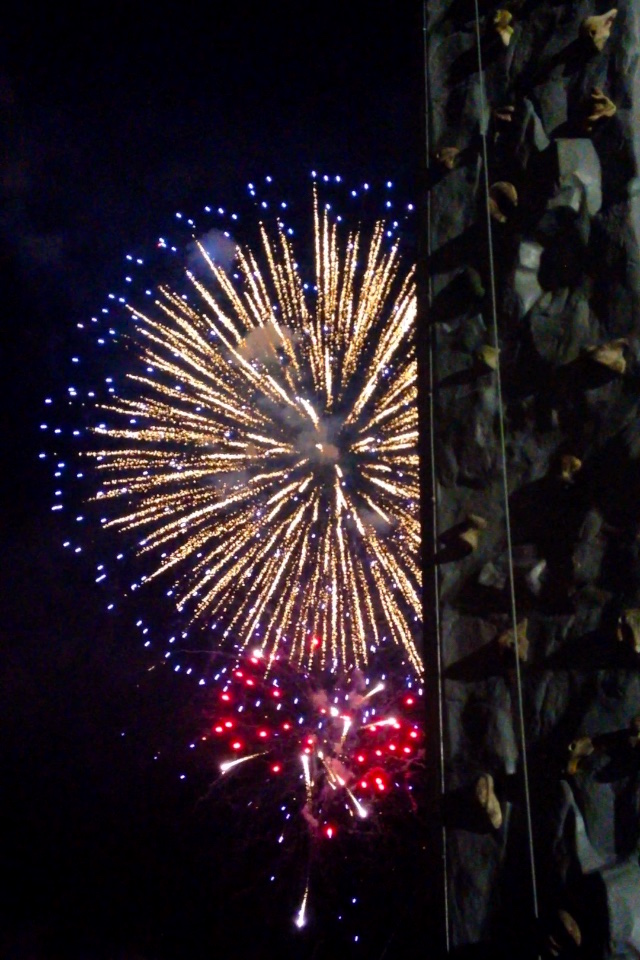 Mobile Rock Wall Fireworks