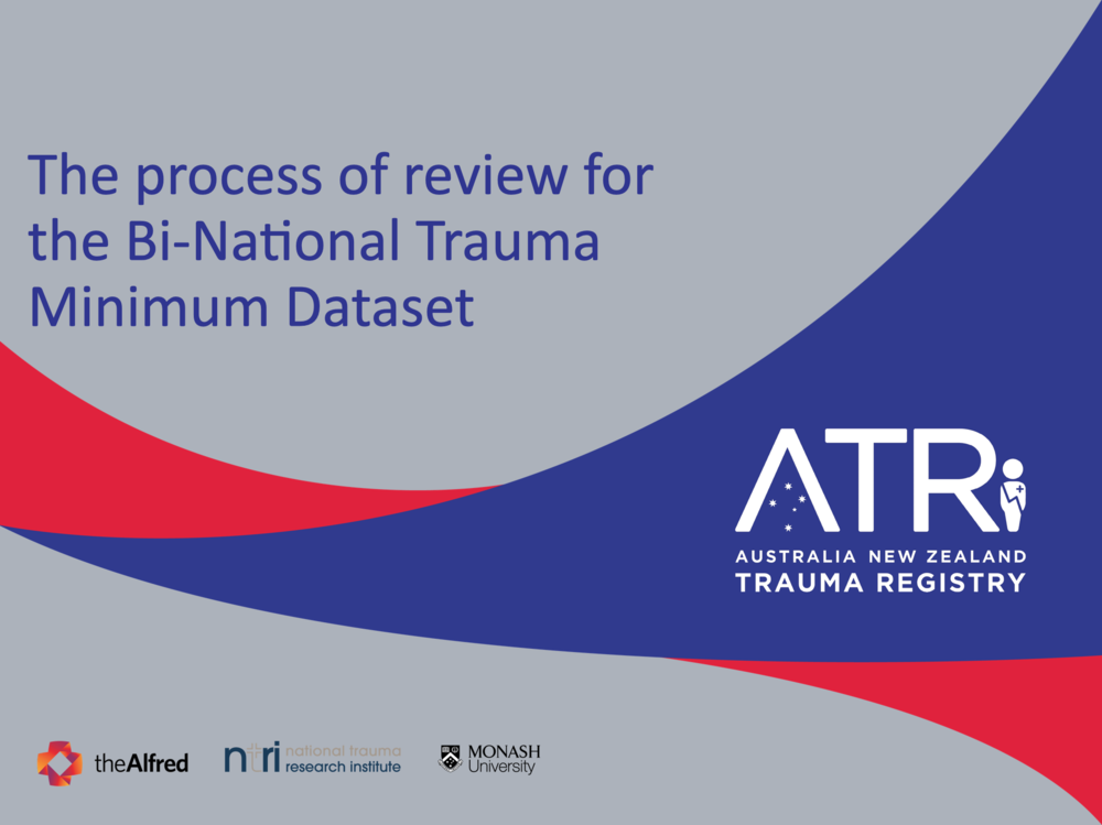 Please download this slideshow - presented at the ATR BNTMDS Workshop Trauma 2018, Perth