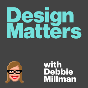 STREAM AND DOWNLOAD DESIGN MATTERS WITH DEBBIE MILLMAN PODCAST FREE ON PIRATE RADIO