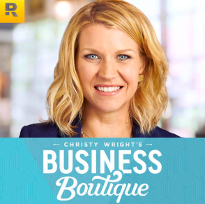 STREAM AND DOWNLOAD CHRISTY WRIGHT'S BUSINESS BOUTIQUE PODCAST FREE ON PIRATE RADIO
