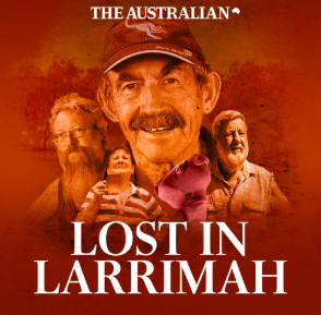 STREAM AND DOWNLOAD LOST IN LARRIMAH PODCAST FREE ON PIRATE RADIO