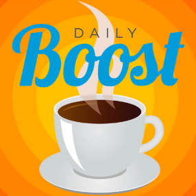 STREAM AND DOWNLOAD THE DAILY BOOST PODCAST FREE ON PIRATE RADIO