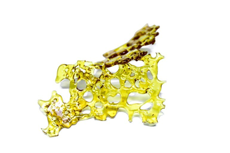 Rockstar Tuna Shatter - 1G - $45    When you party too hard under the sea, count on therapeutic benefits from Sweet Leaf Concentrate's Rockstar Tuna Shatter to leave your body feeling rejuvenated. Soothe head banging migraines and mild inflammation when you dab on Rockstar Tuna. This Indica-dominant Hybrid offers up surprising hints of herbal spices and grape and builds up an intense high that leave the body hopelessly couch locked.
