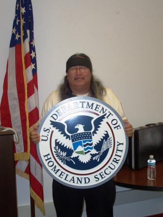 Troy De Roche at Homeland Security in Honolulu