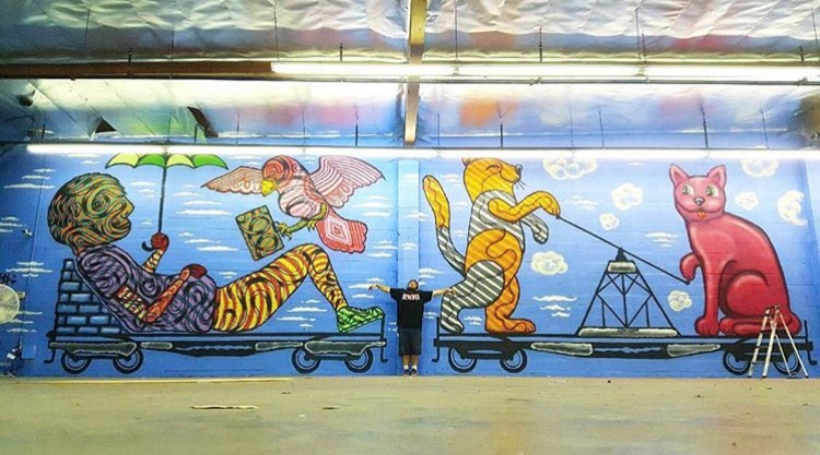 Metro | Collab with Jennifer Korsen @humansmakeart