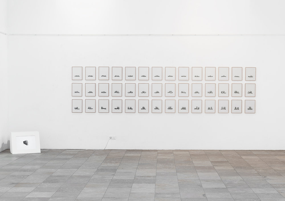 Juergen Bergbauer, Installation View, Studies after Nature