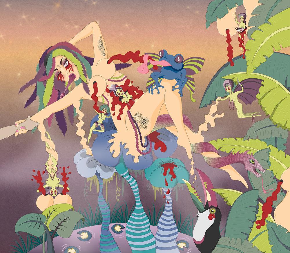 Envy , 2015, Digital Print, 100cm x 70cm