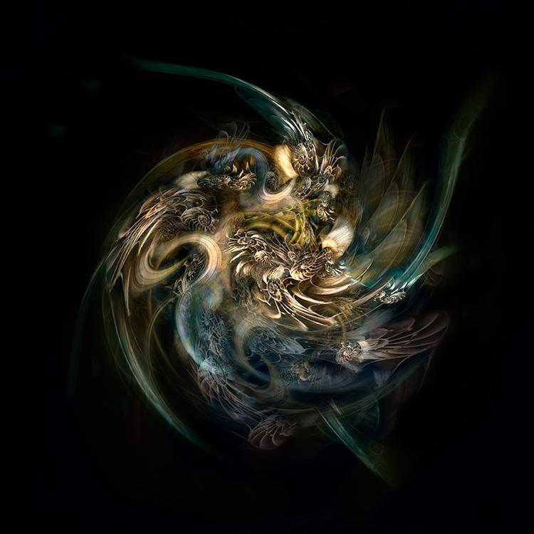 Title: Nautilus Universe. Created in Japan 2018. Digitally enhanced photographic art work. ©️SENSEGRAPHIA / Eriko Kaniwa all rights reserved.