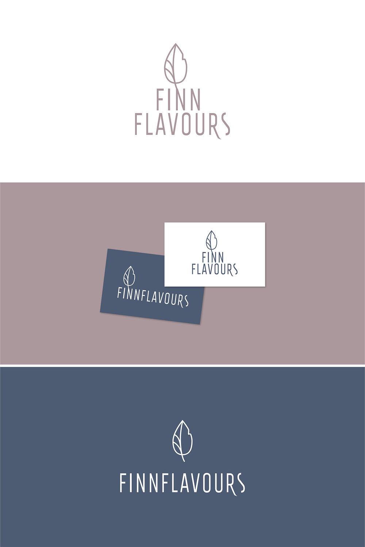 Annika Välimäki logosuunnittelu Finn Flavours