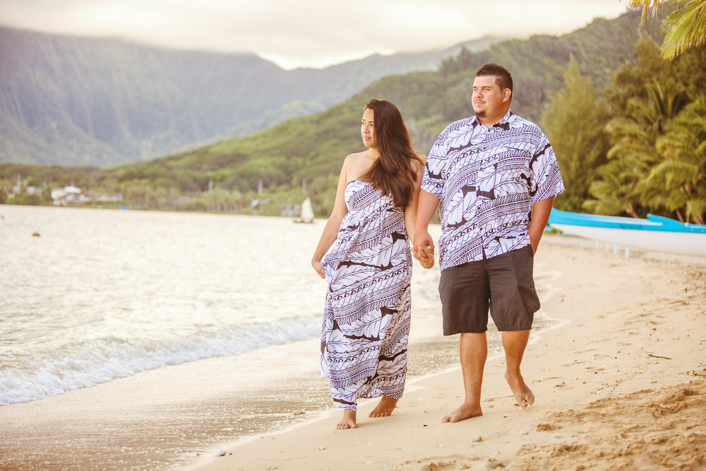 Hawai'i engagement photography