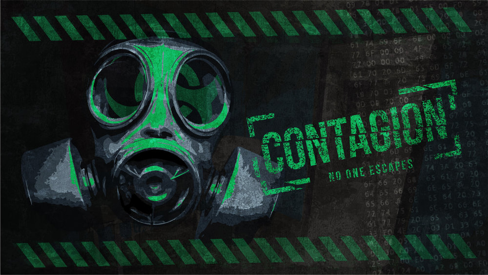 contagion - In order to retrieve the vaccine you must find a way to defeat the lock down on the laboratory. The quarantine timer is set to 60 minutes, after which the room and all traces of your work will be incinerated. You must do this if the rest of humanity is to benefit from your work.