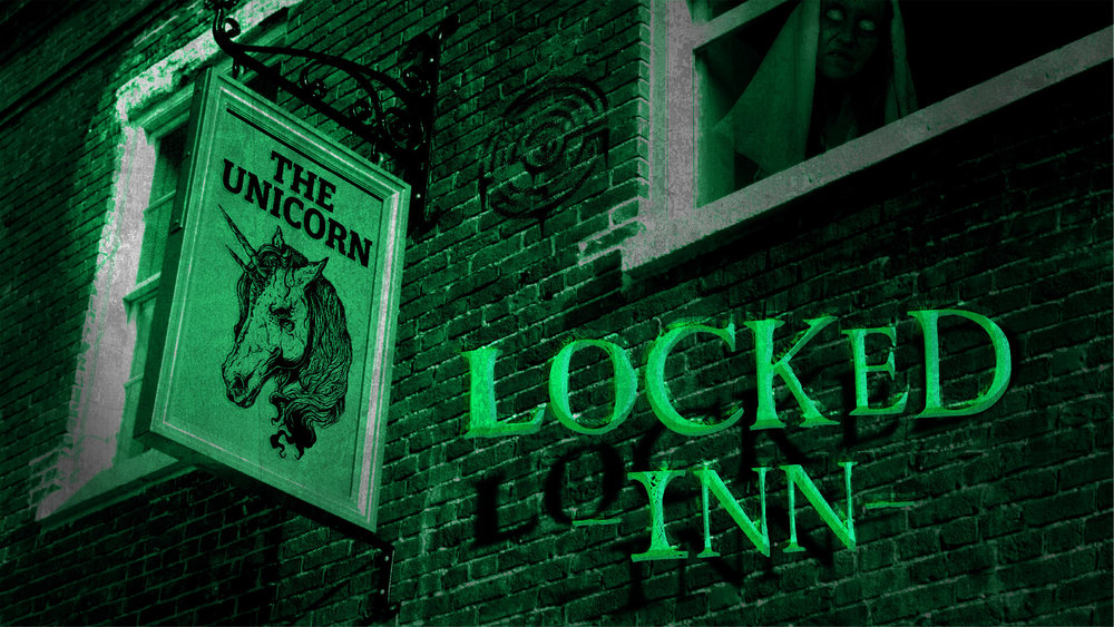 locked inn - The Unicorn pub has a has a chequered history to say the least. It's previous owners all coming to an unseemly end. It has to be haunted! Your group have decided to conduct a seance within the hotel, however this has stirred up three of the previous occupants. Only by satisfying the spirits and releasing them from the curse of the Unicorn can you escape.