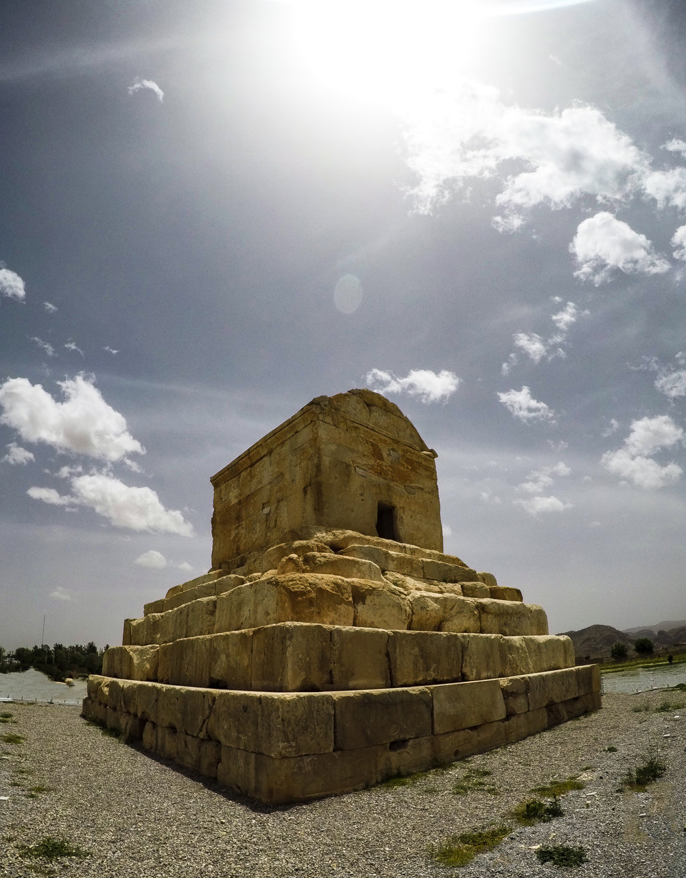 cyrus the great  - The tomb of Cyrus ( GoPro shot )