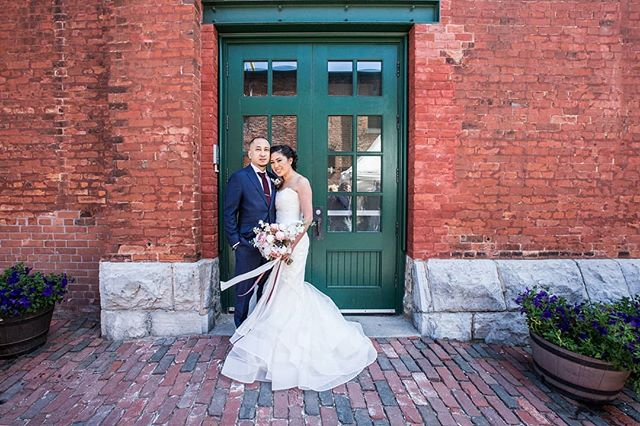 Did you ever shoot a wedding that you wished never ended? . . . . . .  #letsdoitagainguys #lovemesomelisaandjay #couplecrush #thedistillerydistrict #toronto #torontoweddings #torontoweddingphotographer #Ottawaweddingphotographer