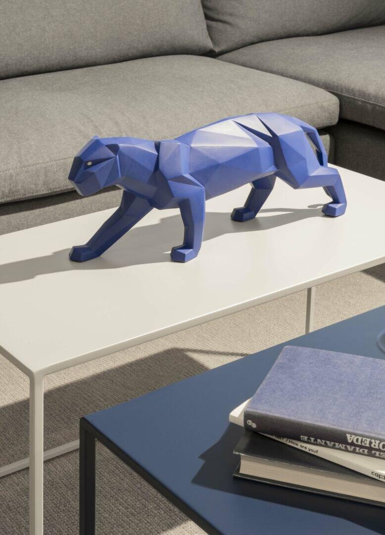 Present Time Statue Origami Panther polyresin matt white - Orangehaus | 1080x778