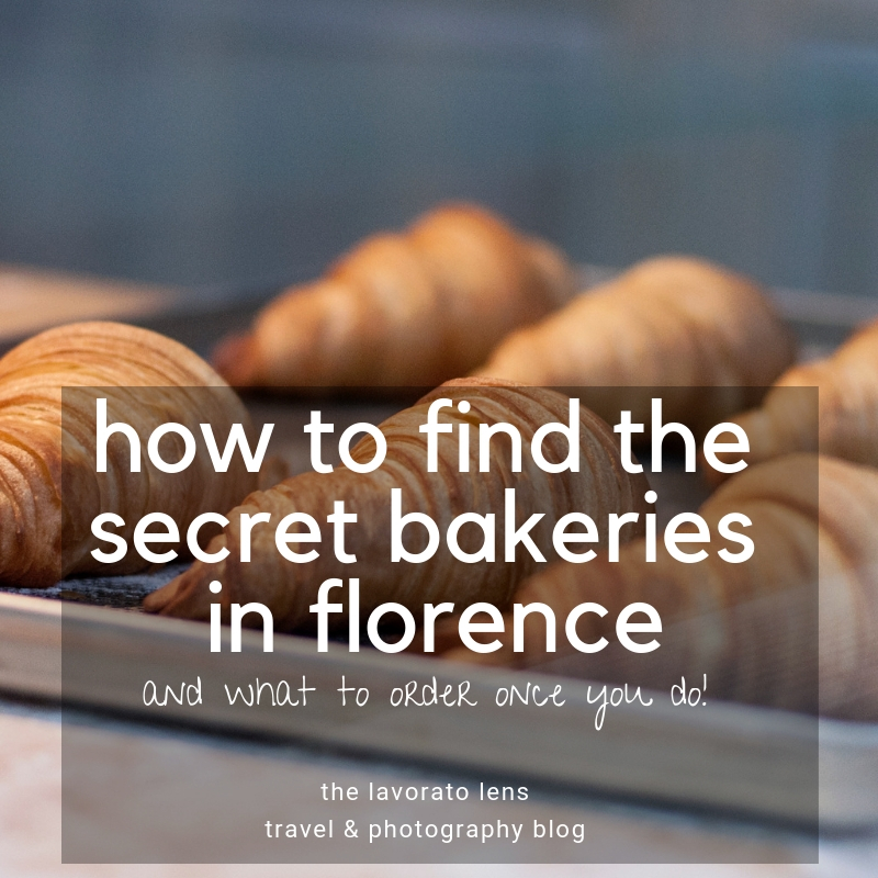 How to find the secret bakeries in Florence, Italy | The Lavorato Lens