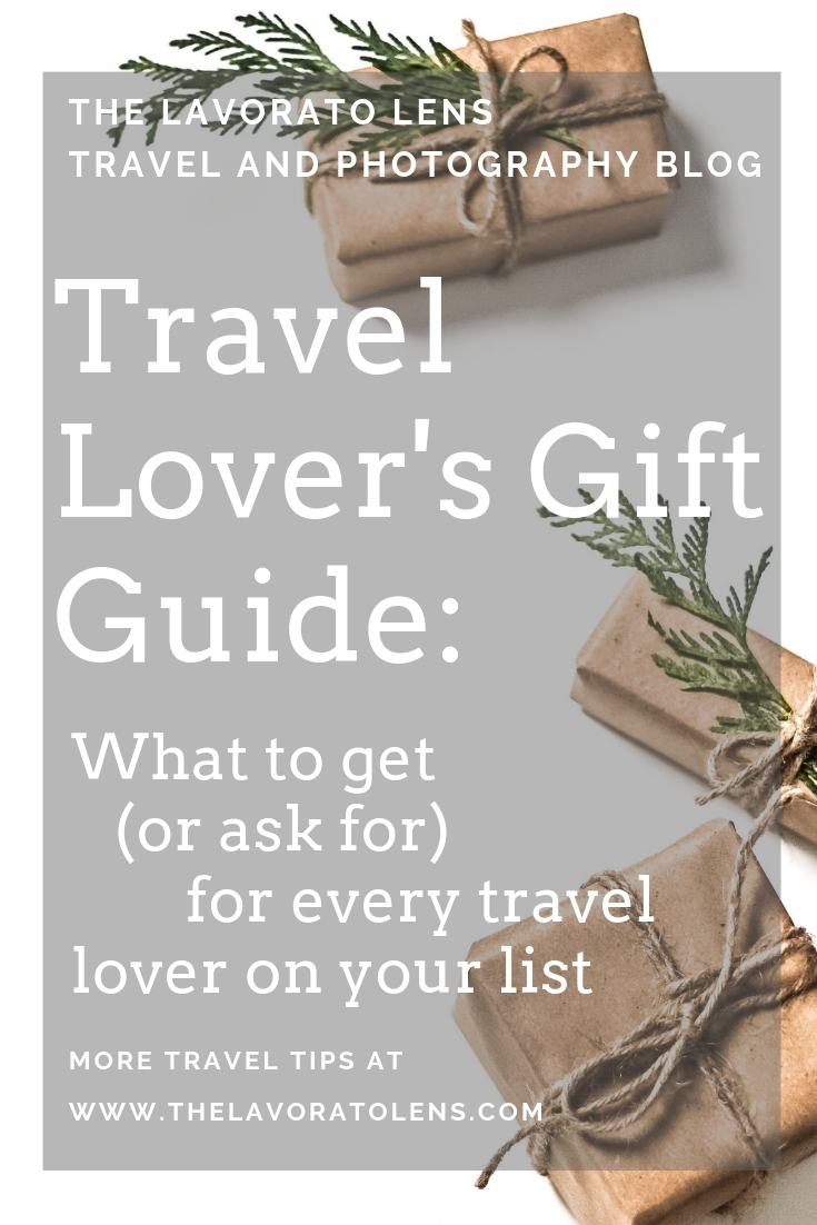Gift Guide for Travel Lovers | The Lavorato Lens