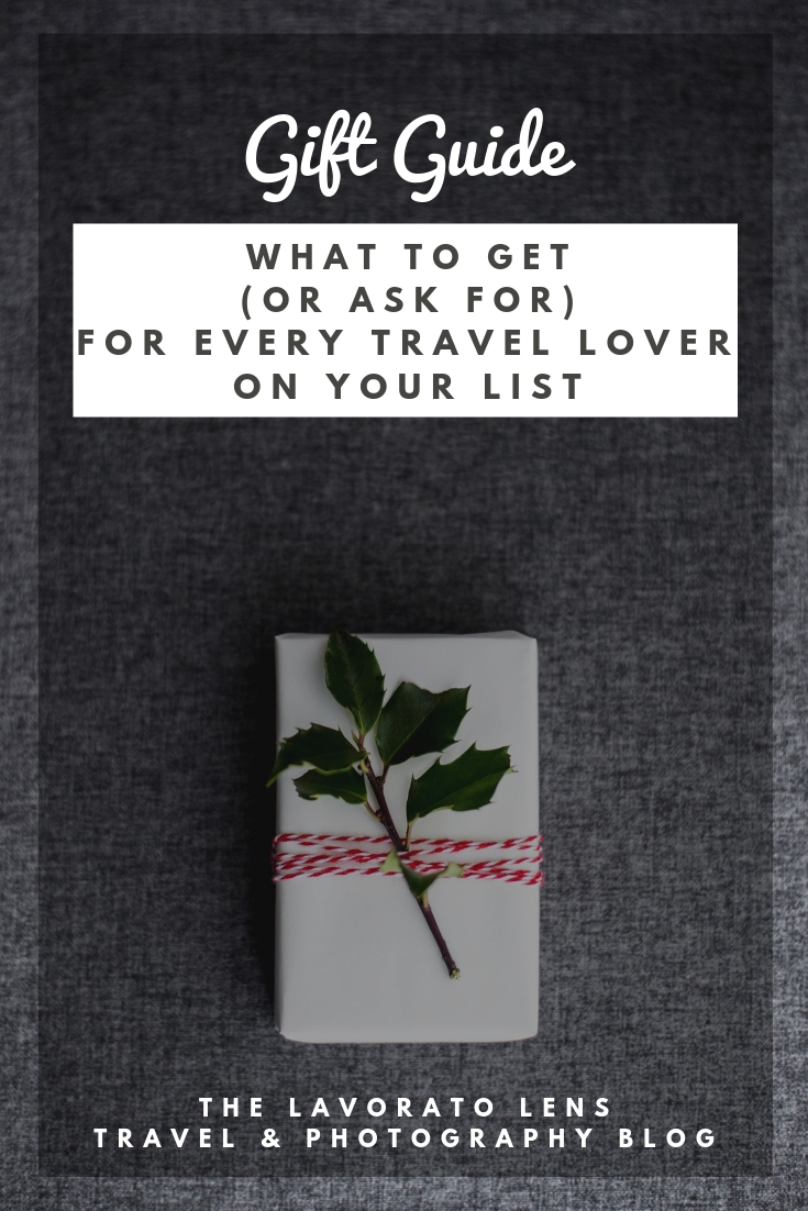 A GIft Guide for Every Travel Lover on Your List | The Lavorato Lens
