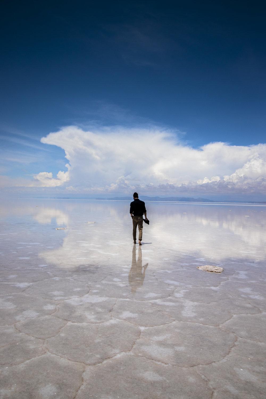 Reflections on the Uyuni Salt Flats
