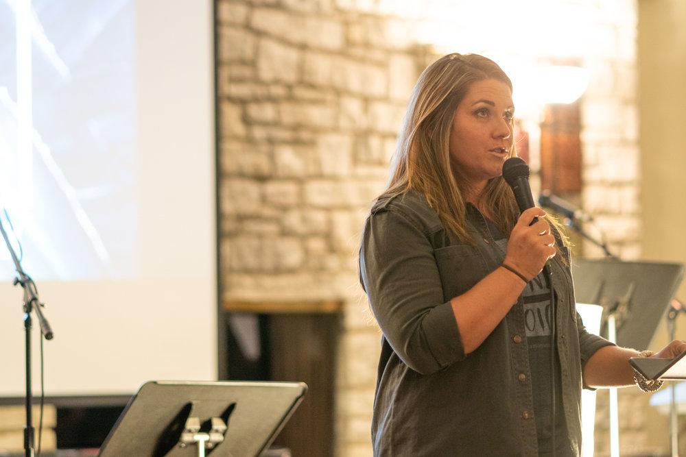 Nicole Braddock Bromley shares her testimony
