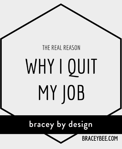 The Real Reason Why I Quit My Job