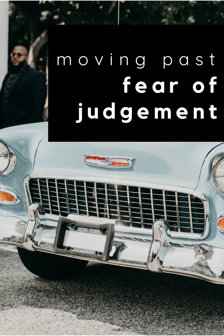 fear of judgement bracey by design