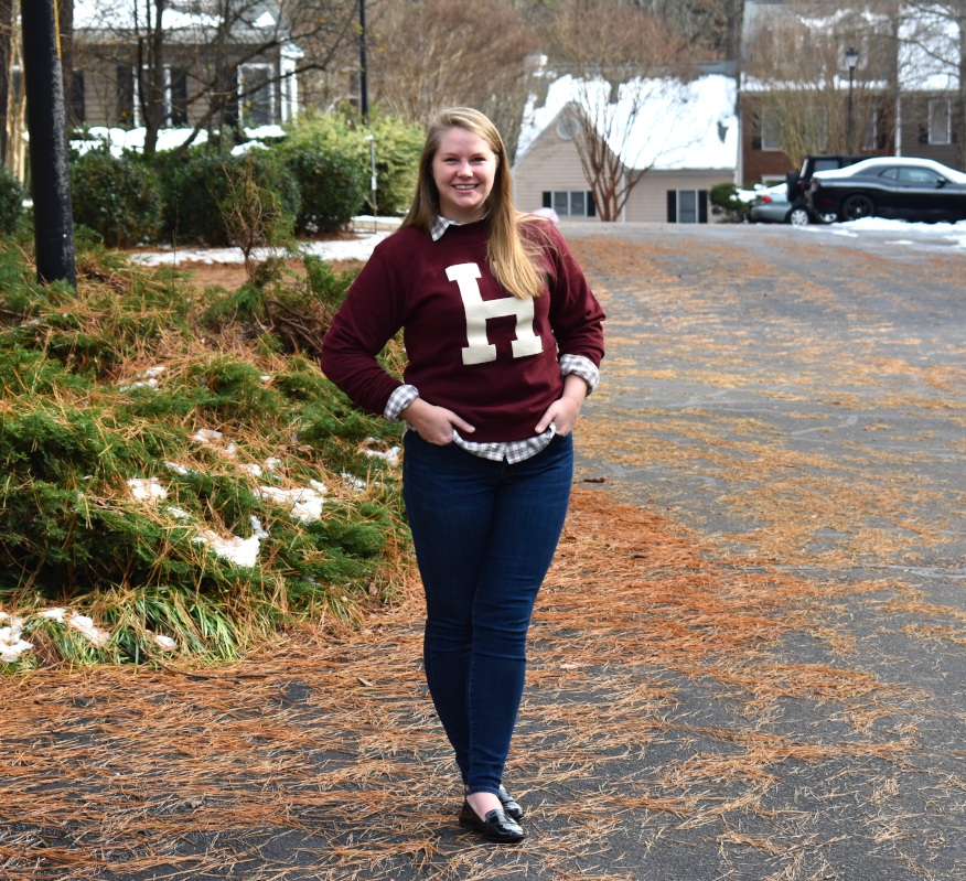 Fun Fact - Gilmore Girls is my favorite TV show and the reason I bought this sweatshirt is because I never got over the love of Harvard I inherited from Rory. She may have decided to go to Yale, but I'm still team Harvard all the way…in a strictly fictional sense.