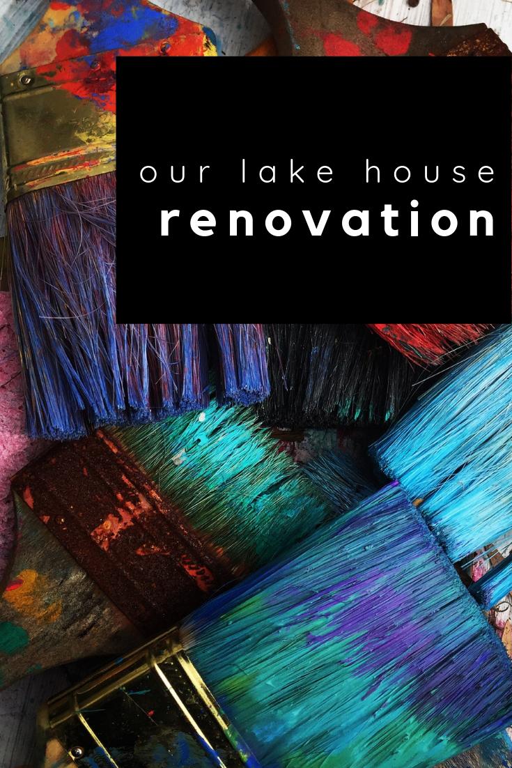 our lake house renovation