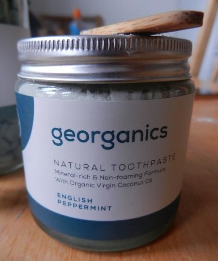 Georganics toothpaste